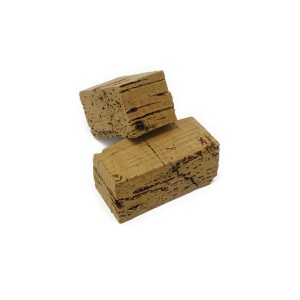 DIY Natural Cork small squares single piece L. 40/45×20/22 (100 pcs)