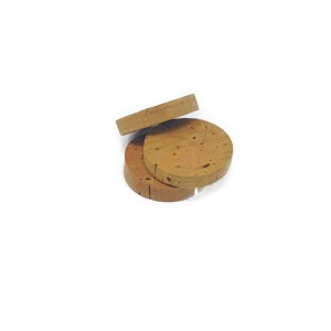 Cork discs for fishing rod 34 x 6 h. (100 pcs)